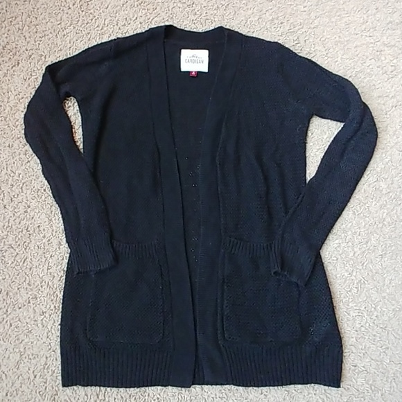 9277386aaf SO Sweaters - Black Cardigan